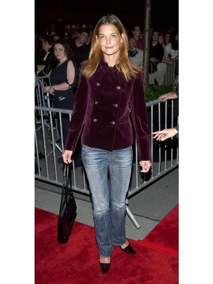 """Modesünden der StarsSo auf den roten Teppich? """"Niemals"""", wurde Katie Holmes wohl heute sagen."""