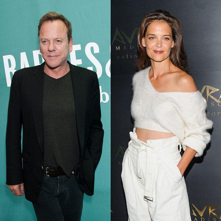 Sind Katie Holmes und Kiefer Sutherland ein Paar?