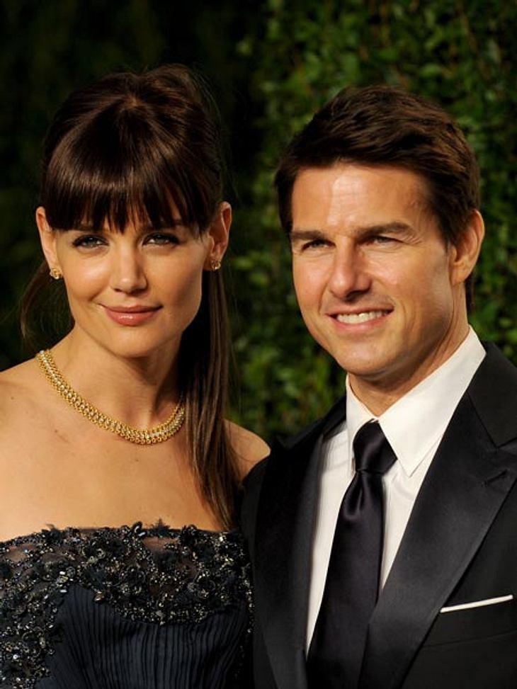 Dicke Luft bei Katie Holmes und Tom Cruise