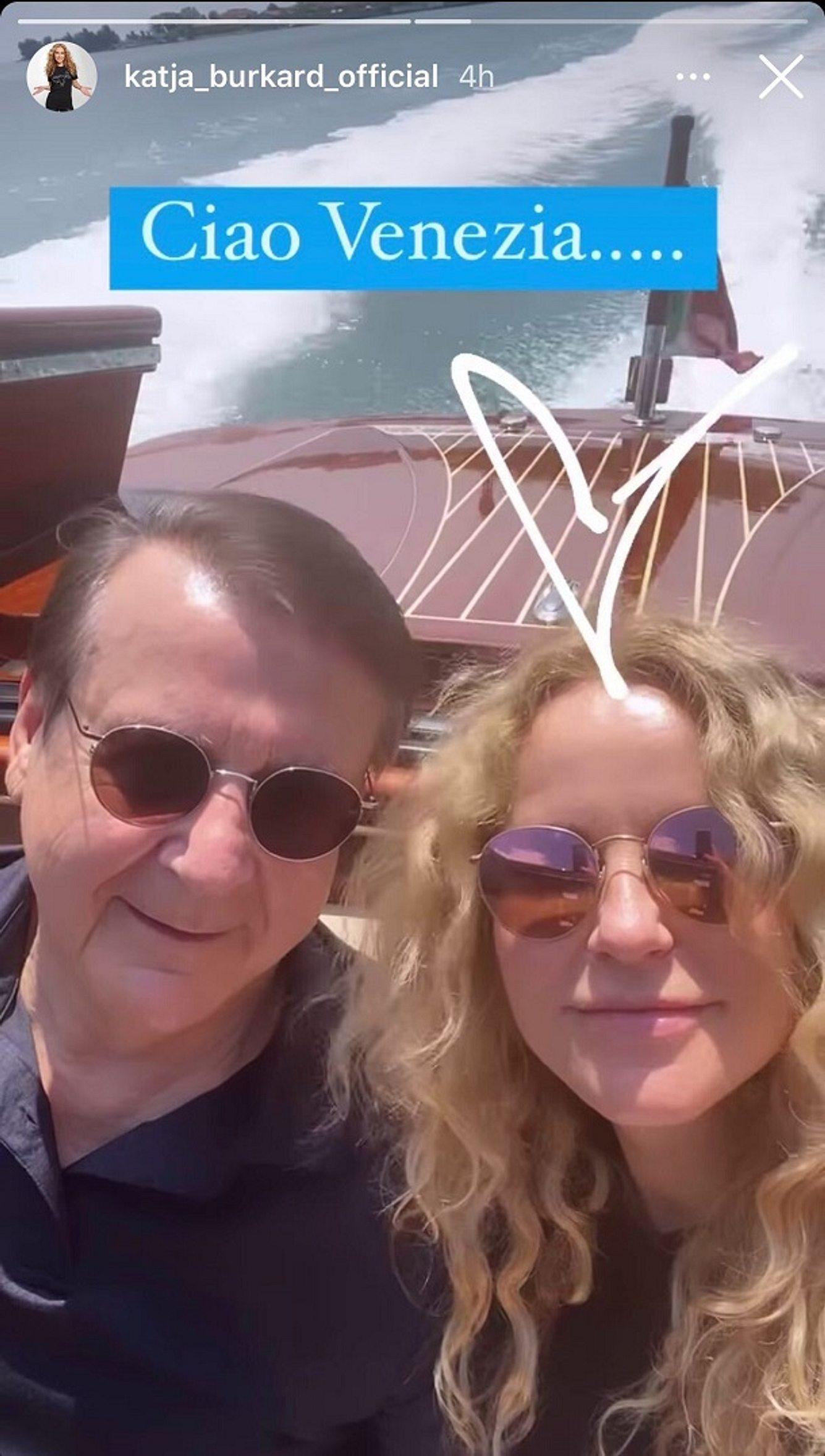 Katja Burkard und ihr Mann