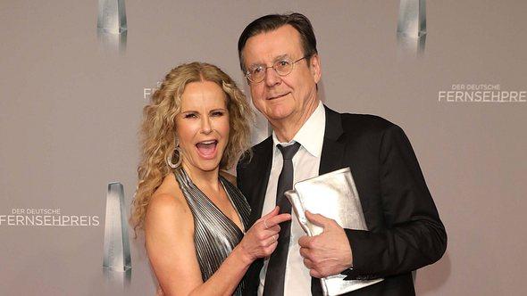 Katja Burkard und Mann Hans Mahr - Foto: Getty Images