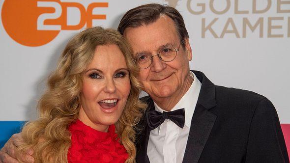 Katja Burkard und Mann - Foto: Getty Images