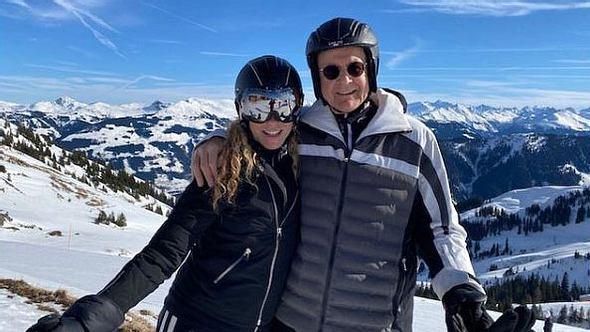 Katja Burkard und Mann Hans Mahr - Foto: Instagram/ katja_burkard_official
