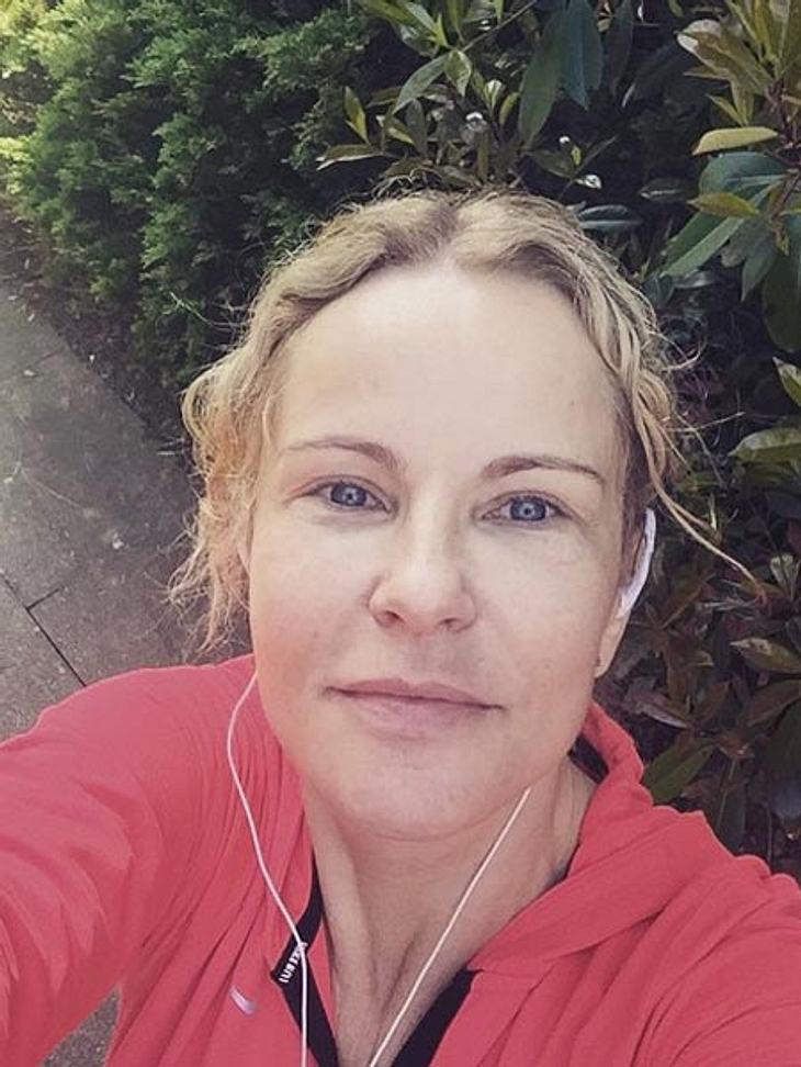 Katja Burkard zeigt sich ungeschminkt