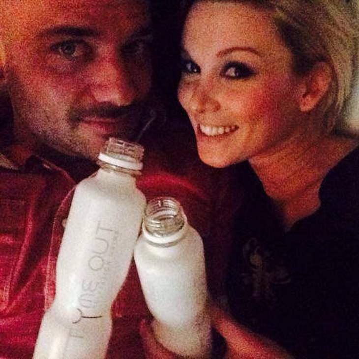 Christian und Katja mit SEINEM Wellness-Getränk