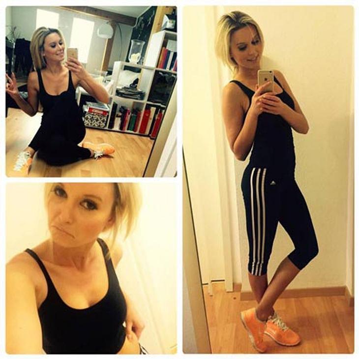 Katja Kühne will fünf Kilo abnehmen
