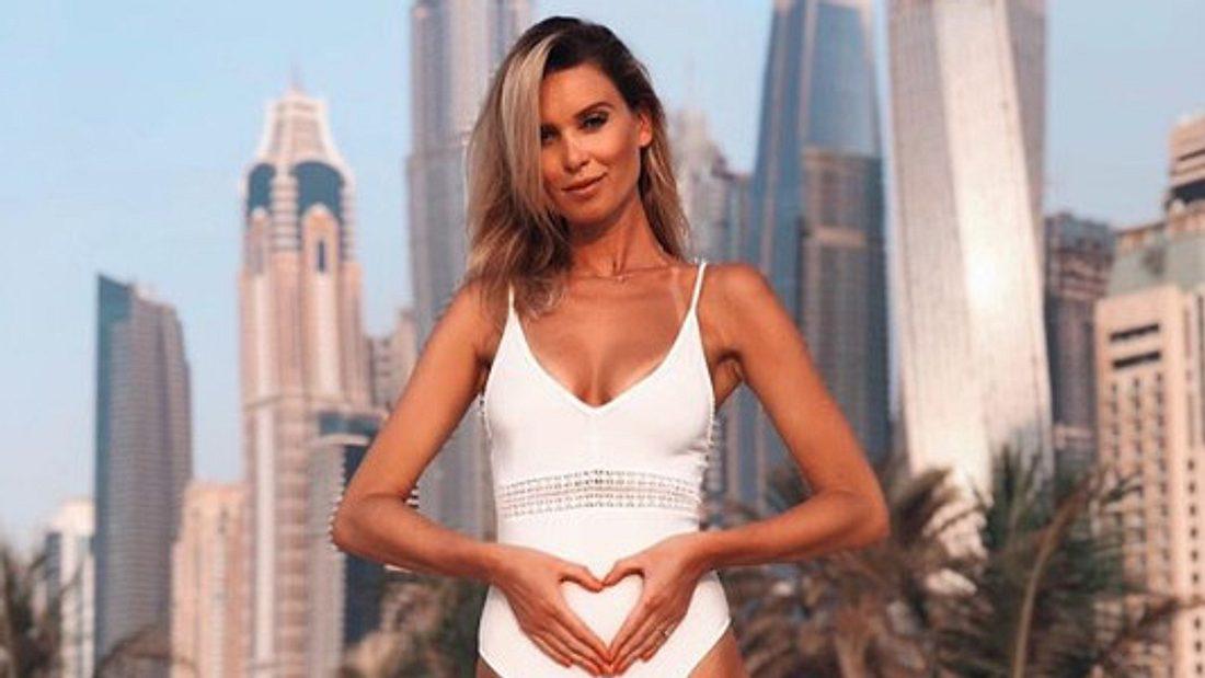 Katja Kühne ist schwanger