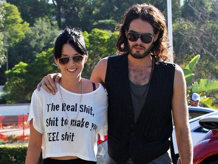 Katy Perry und Russell Brand im Liebesrausch. Jetzt sollen sie sich sogar verlobt haben!
