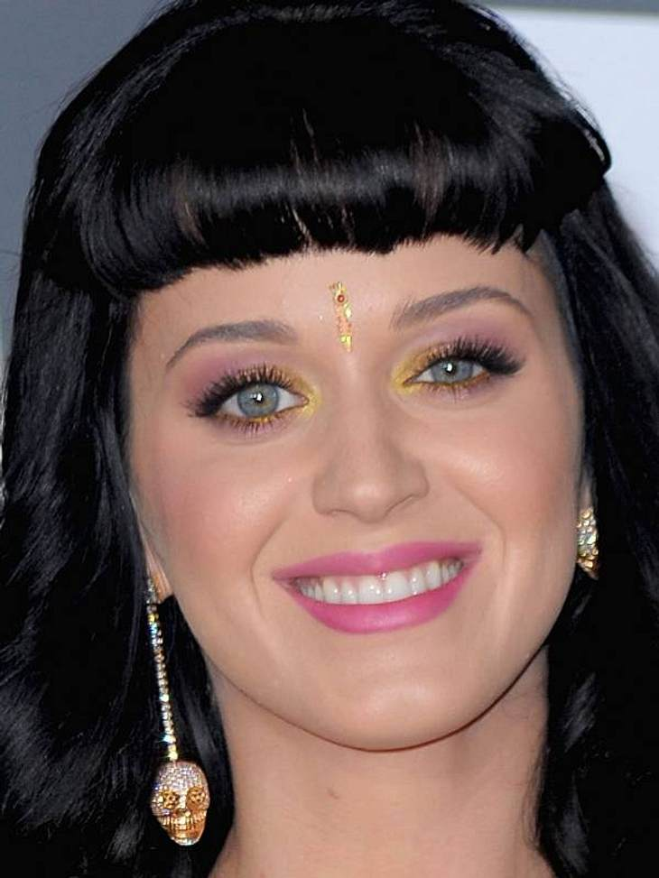 ... auch Katy Perry mag's bunt.