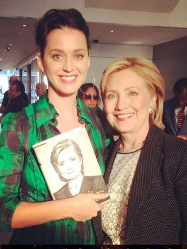Katy und Hillary