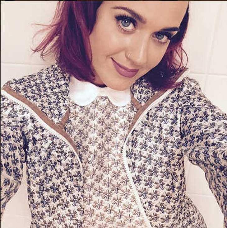 Katy Perry: Schon wieder eine neue Haarfarbe