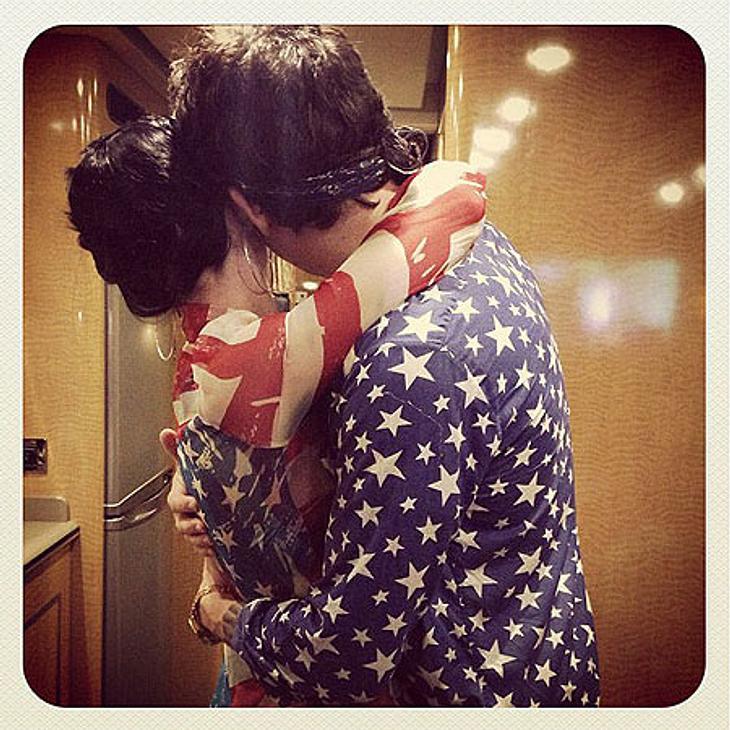 Katy Perry und John Mayer schmusen am Unabhängigkeitstag.