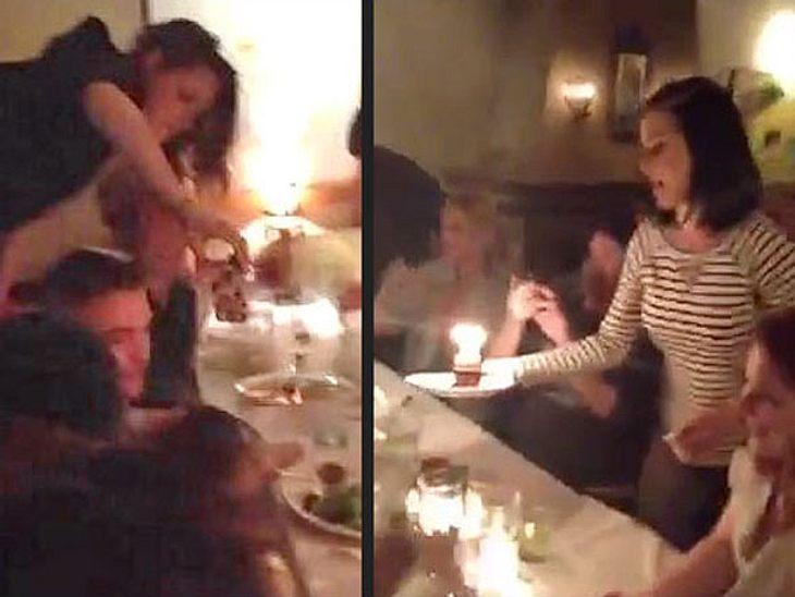 Kristen Stewart und Robert Pattinson feiern mit Katy Perry.