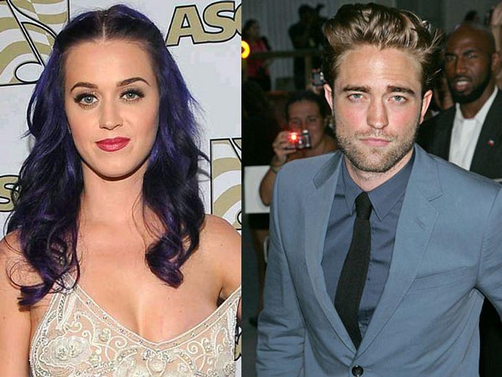 Katy Perry und Robert Pattinson waren gemeinsam auf einem Konzert.