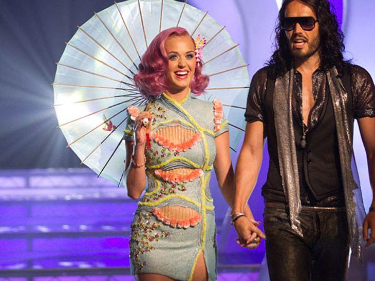 VMA 2011 - Die HighlightsDie häufigsten Nominierungen bei den VMA 2011 hatte Katy Perry - total aufgeregt hatte sie sogar ihren Mann Russell Brand mit im Schlepptau.