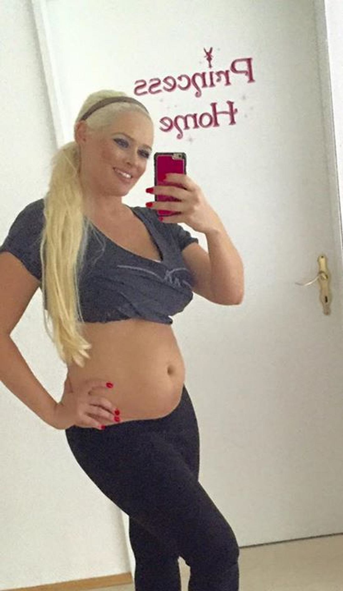 Daniela Katzenberger After-Baby-Body