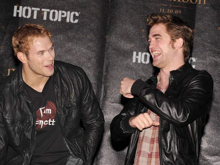 Kellan Lutz ist auf Robert Pattinson eifersüchtig und umgekehrt.