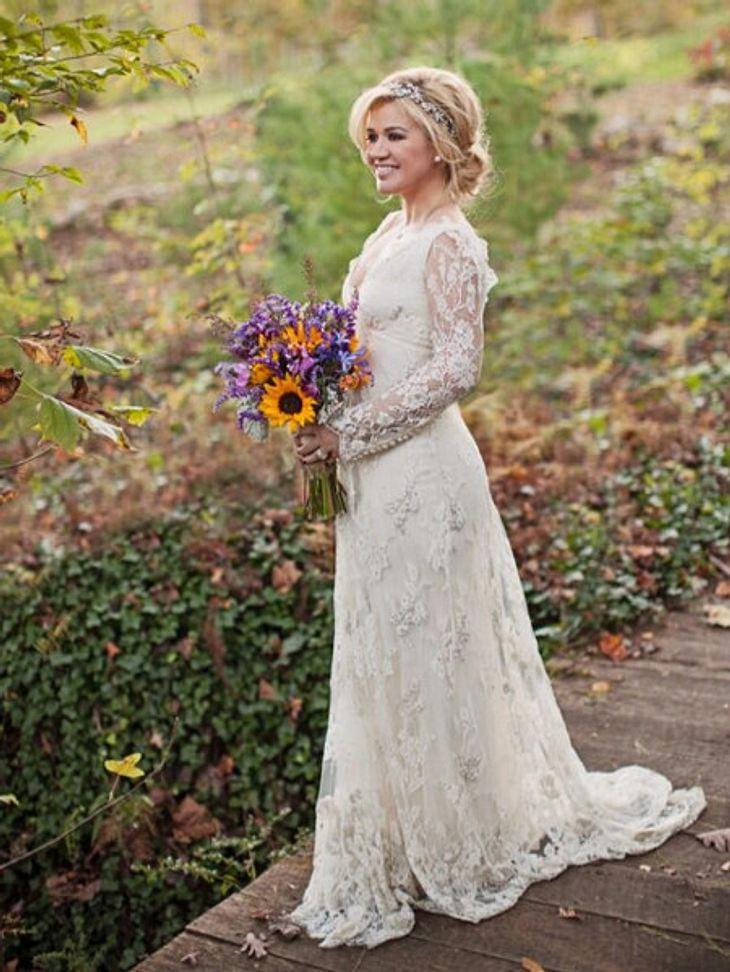Ausgezeichnet Kelly Clarkson Hochzeitskleid Galerie - Brautkleider ...