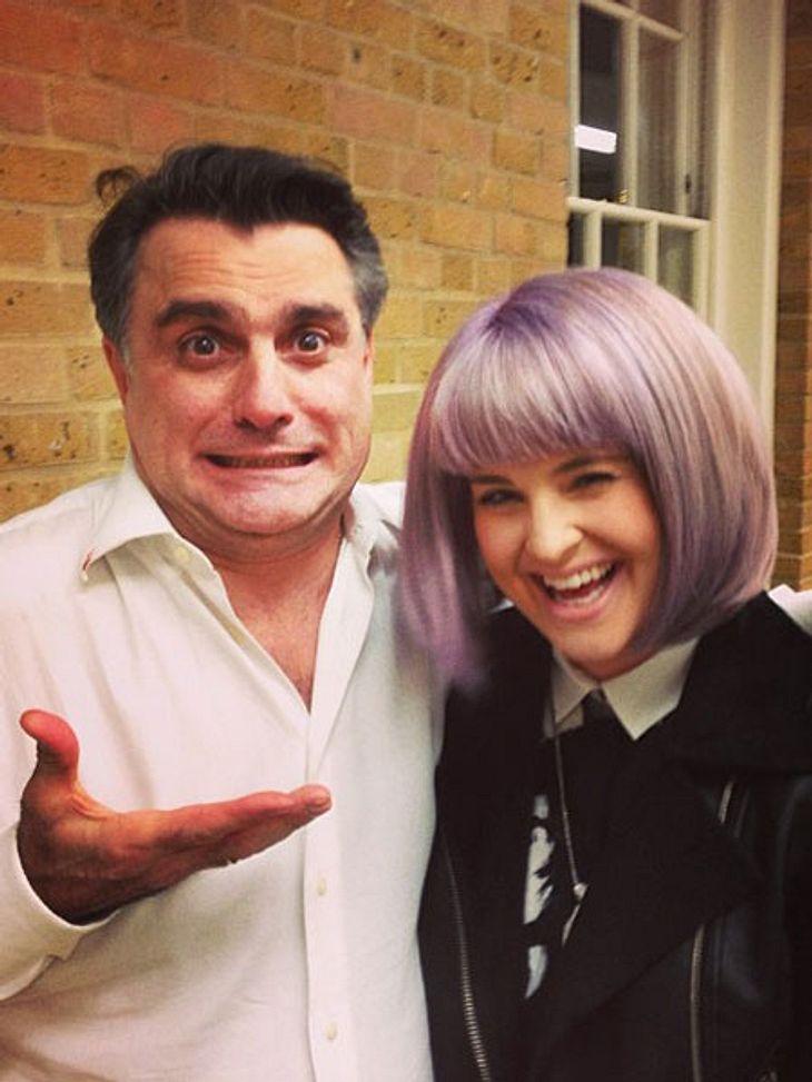 Kelly Osbourne trägt jetzt Bob.