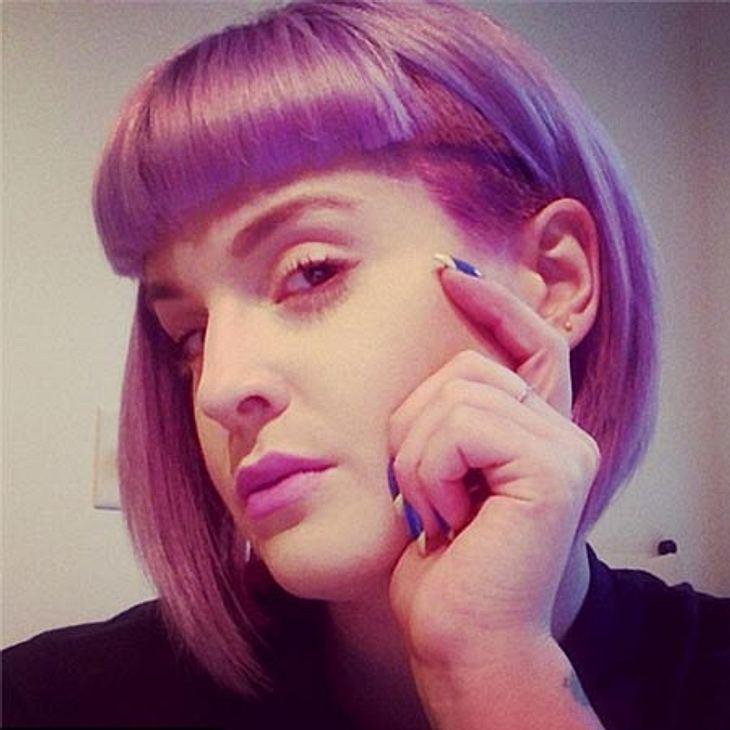 Kelly Osbourne hat sich eine neue Frisur gegönnt.