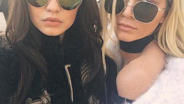 Kendall Jenner ist blond, Gigi Hadid brünett - Foto: Instagram/ Kendall Jenner