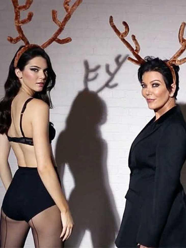 Kendall & Kris Jenner: Verstörendes Video zu Weihnachten