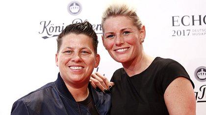 Kerstin Ott und Ehefrau Karolina - Foto: Getty Images