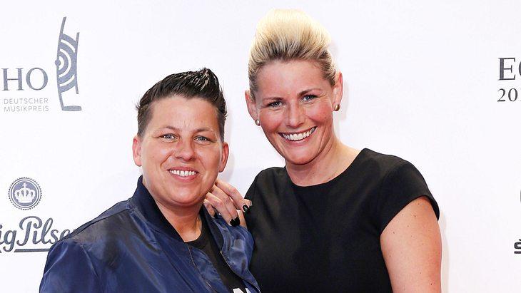 Kerstin Ott und Ehefrau Karolina