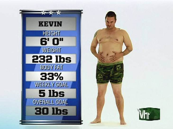 Oh, wie peinlich ... Kevin Federline ist mit seinem Übergewicht auch noch in einer TV-Show aufgetreten und hat sein wahres Gewicht Preis gegeben.