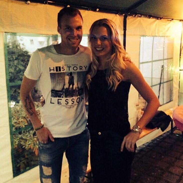 Kevin Großkreutz und seine Freundin Caro werden Eltern