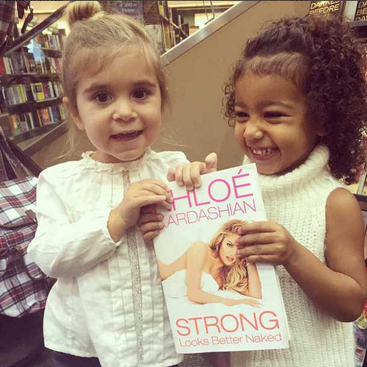 Khloe Kardashian Buch Werbung