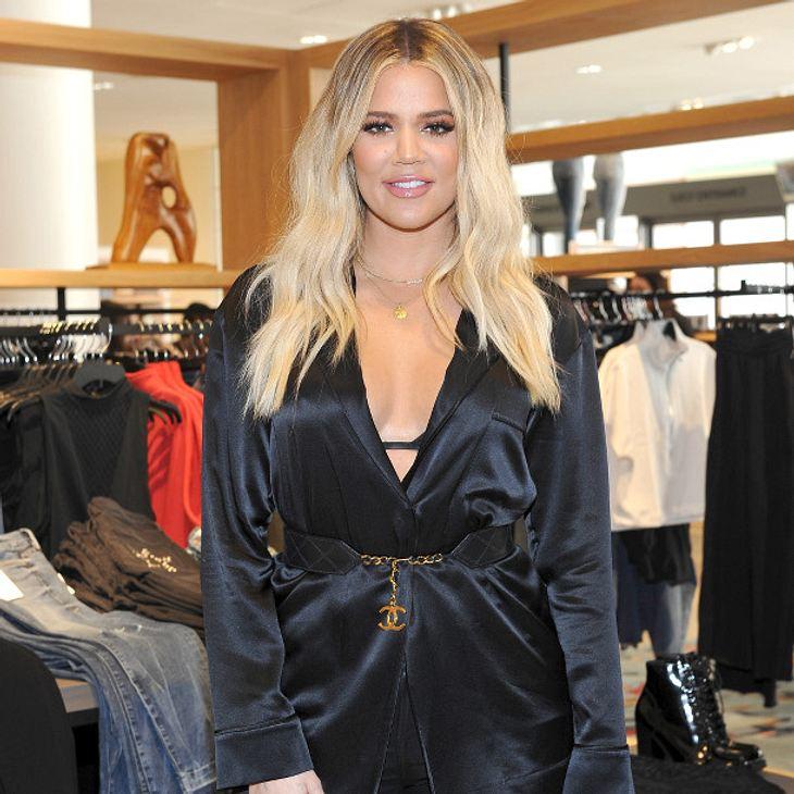 Khloé Kardashian: Wölbt sich hier ein kleiner Babybauch?