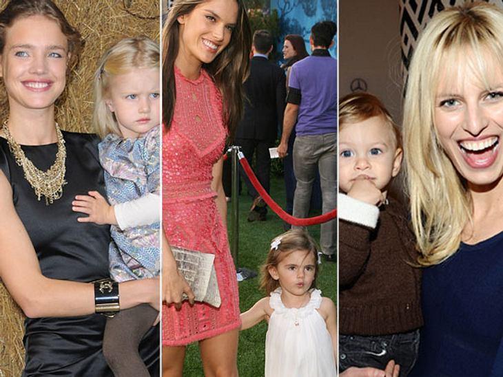 Ganz die Mama! So süß sind die Kinder der ModelsMeine Mama, das Topmodel! Wenn man Miranda Kerr, Alessandra Ambrosio & Co. mit makelloser Figur auf dem Laufsteg sieht, kann man es kaum glauben, aber viele der berühmten Models sind berei