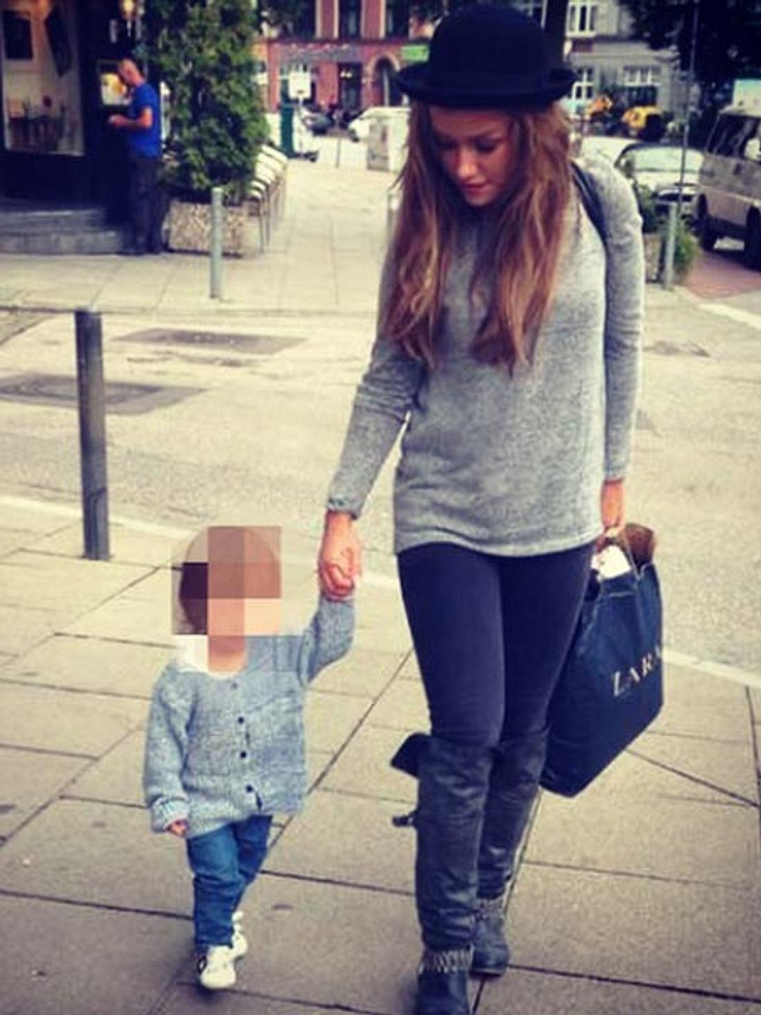 Kim Gloss schwärmt von Töchterchen Amelia