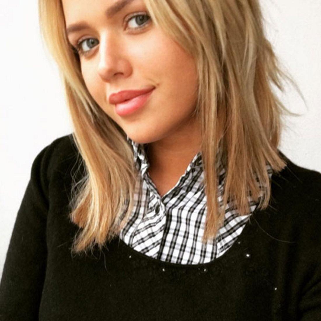Kim Gloss hat wieder lange Haare