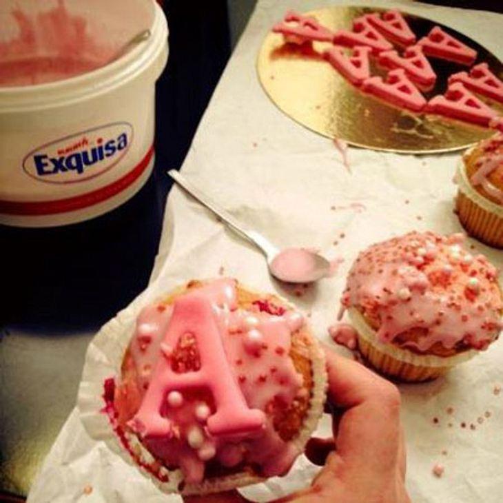 Kim Gloss postete dieses süße Muffin-Bild.