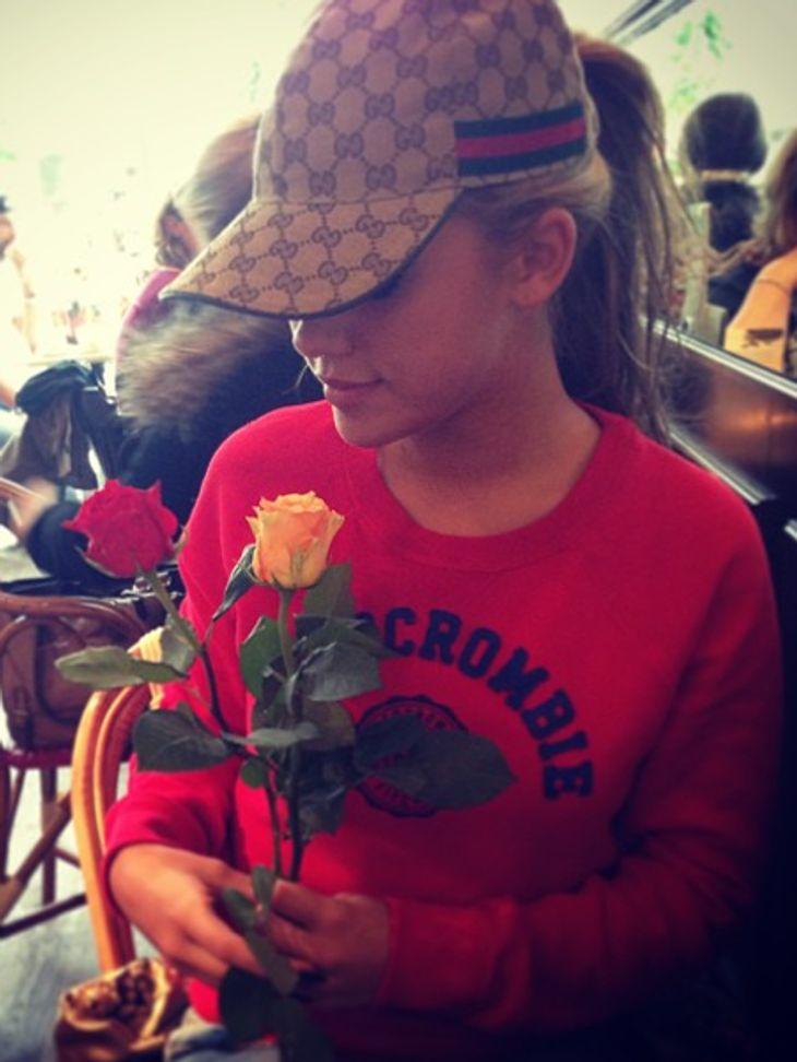 Rosen von ihrem Freund?