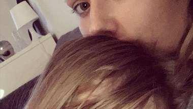 Kim Gloss Tochter Amelia Gesicht - Foto: Instagram / Kim Gloss