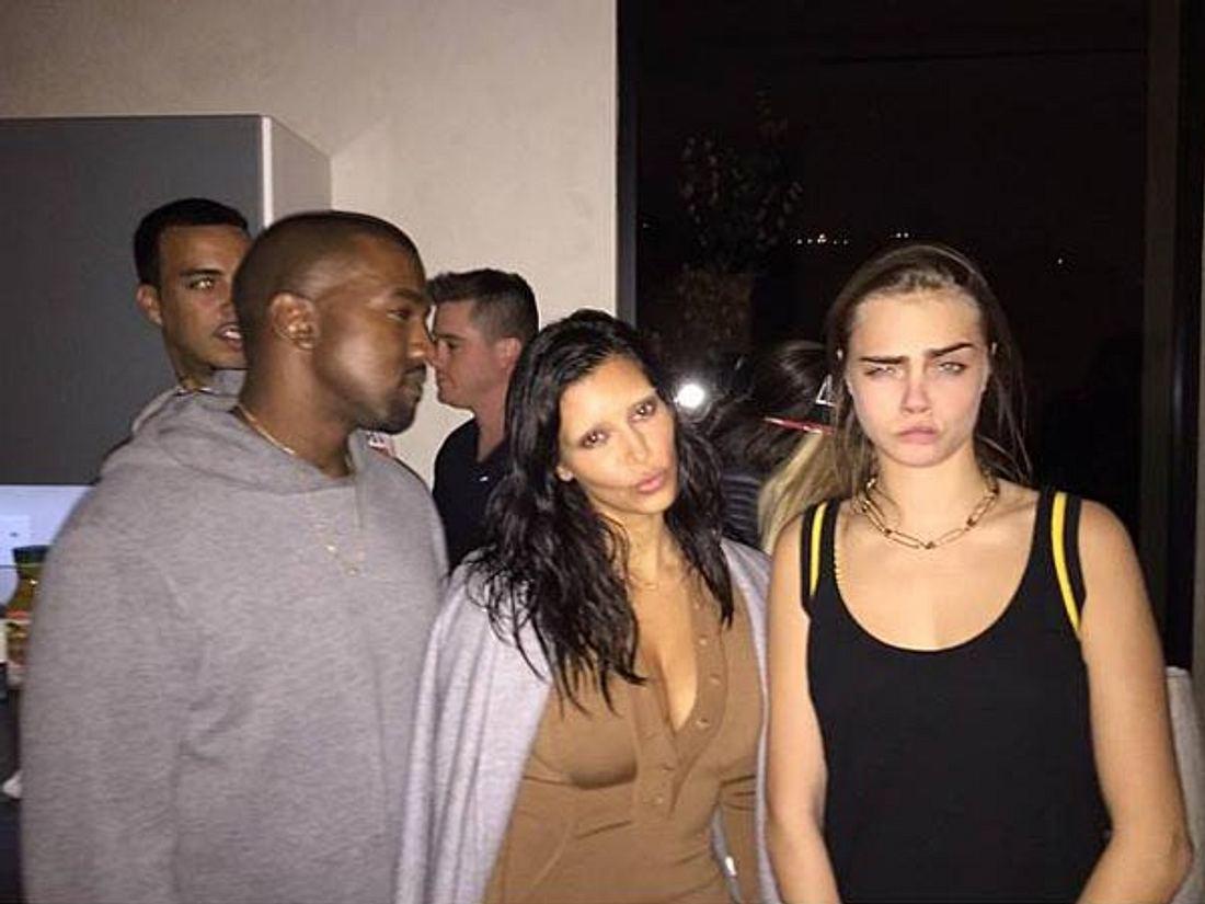 """Gruselig! """"Ohne"""" Augenbrauen erkennen wir Kim Kardashian kaum wieder"""
