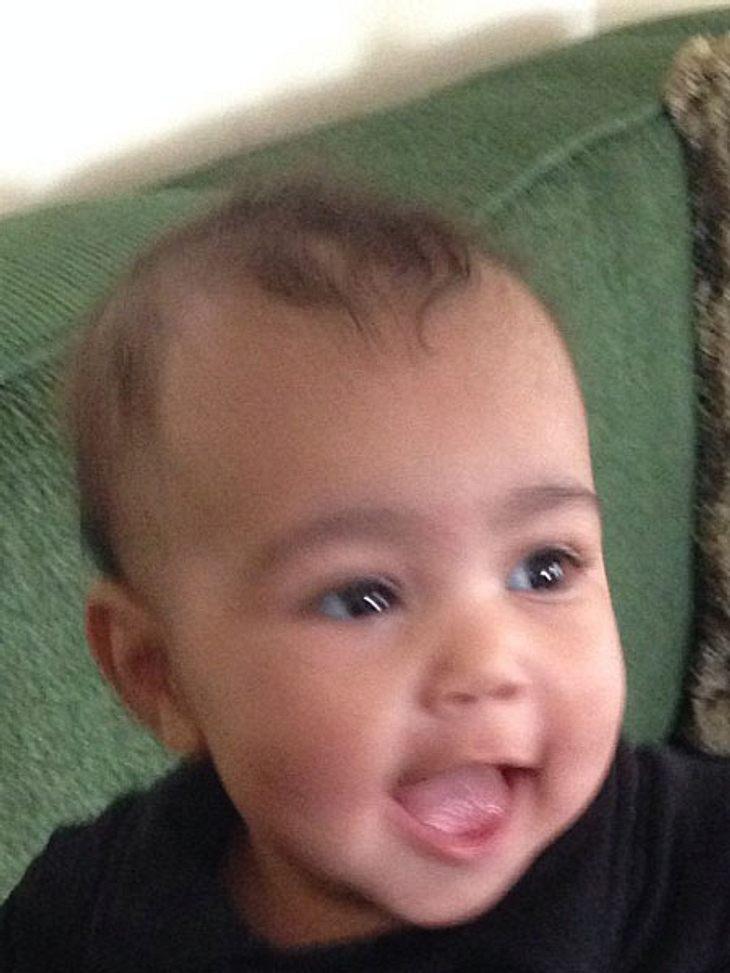 Kim Kardashian zeigt Baby North