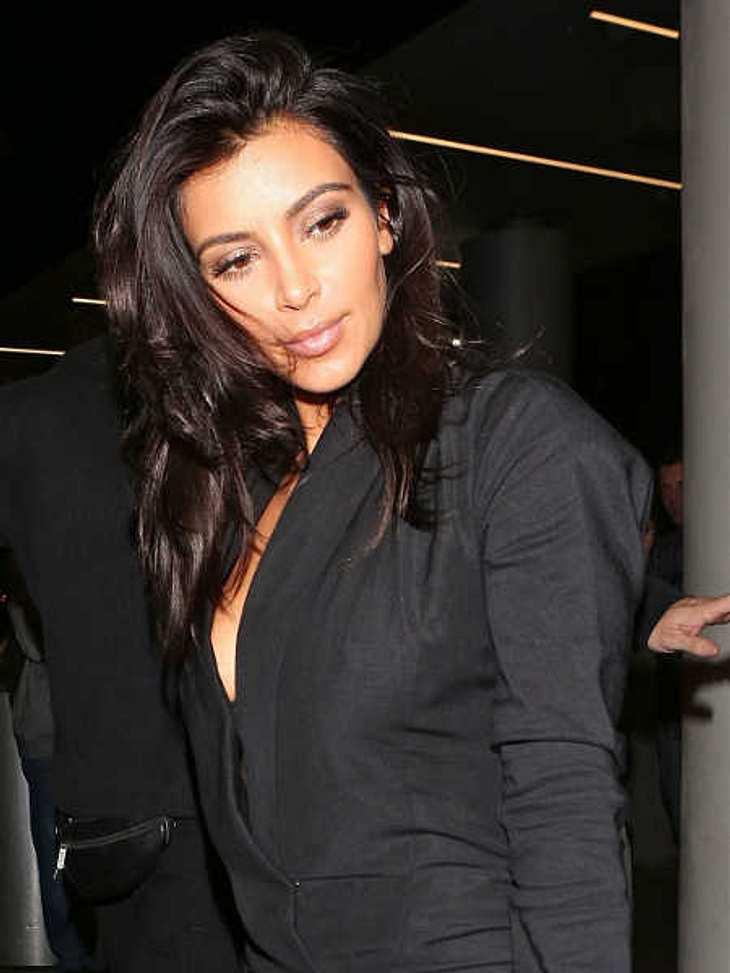 Kim Kardashian fliegt nach Indien.