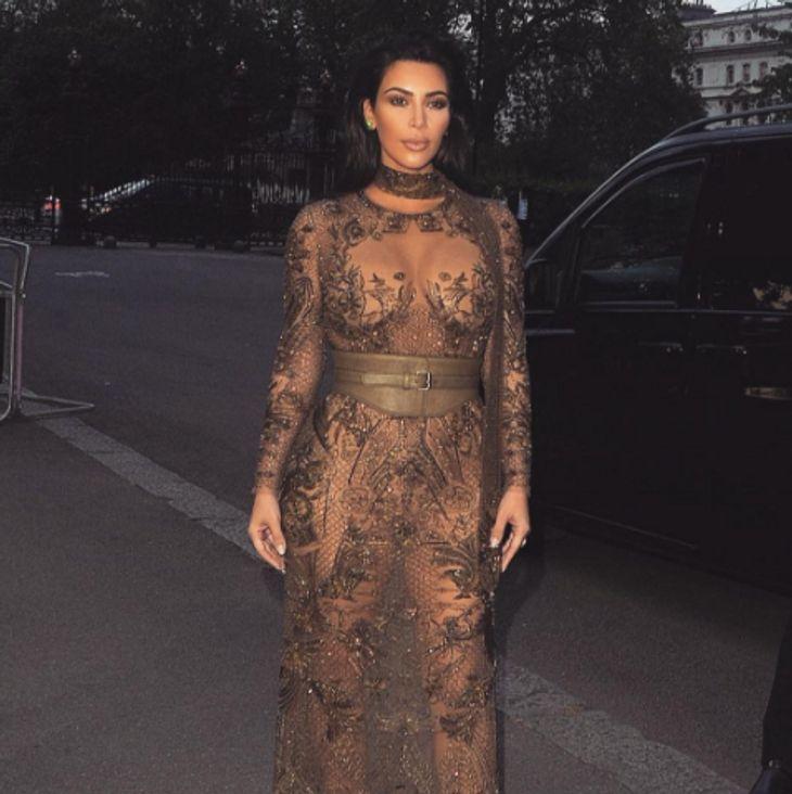 Kim Kardashian erreicht bald ihr Traumgewicht
