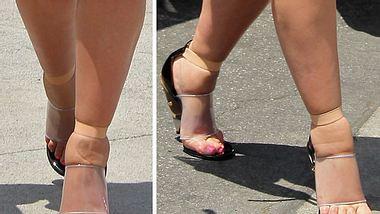 Ungepflegt, verformt, gequetscht - nicht alle Promi-Füße sind schön anzusehen.