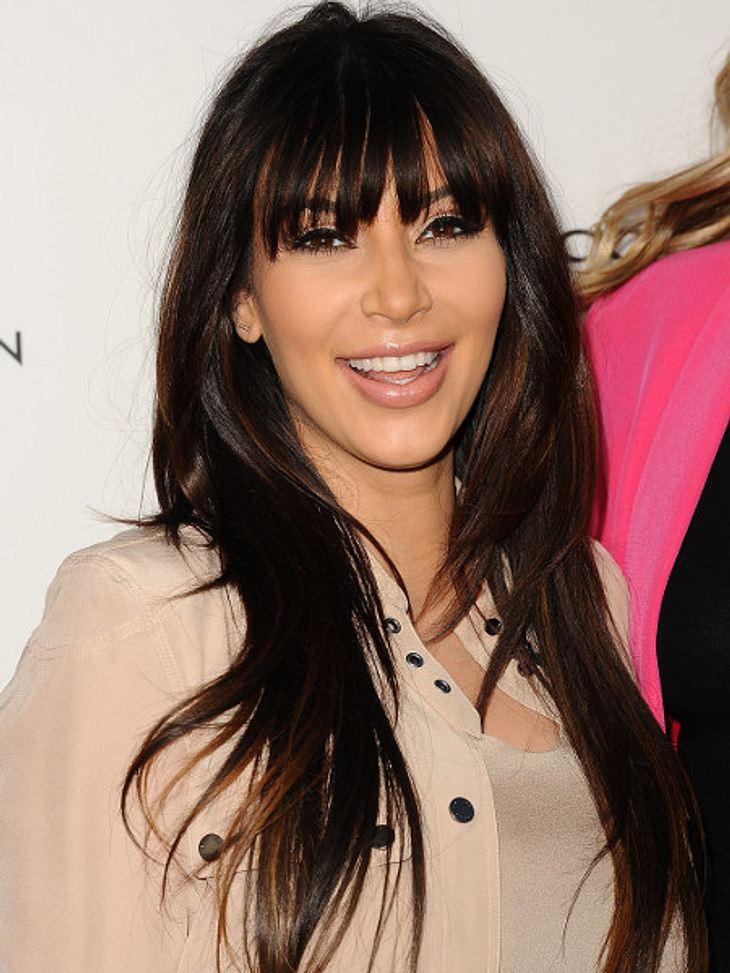 Kim Kardashian liebt das Mutterdasein