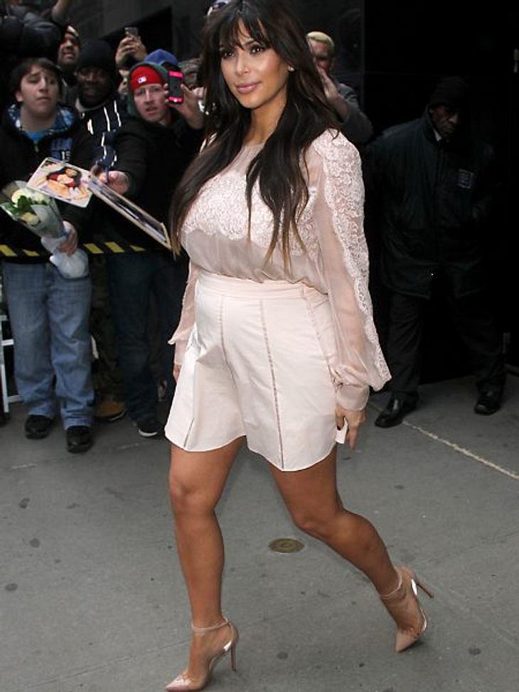 Kim Kardashian will wieder in Form kommen