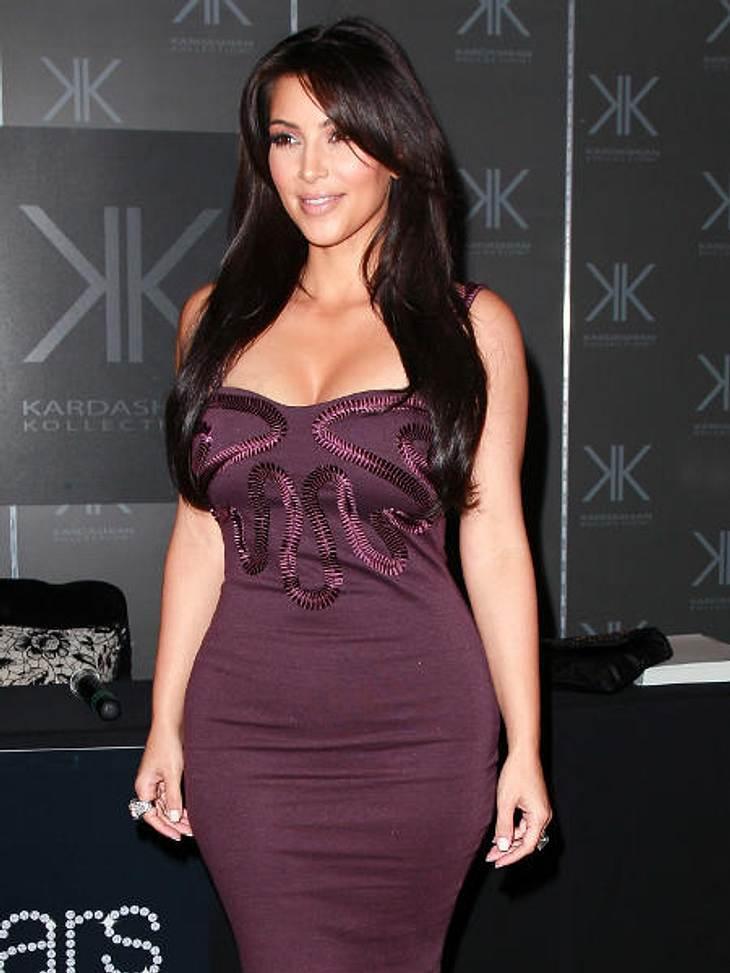 Kim Kardashian mit ihrem Vater