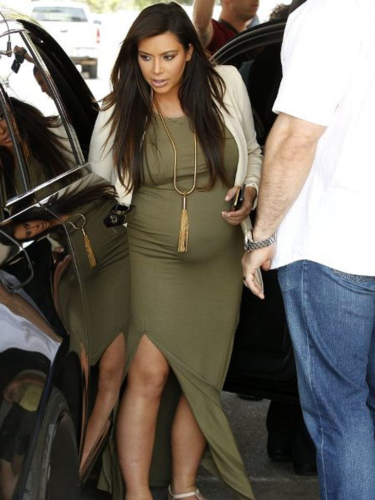 Kim Kardashian hat Angst vor einer natürlichen Geburt