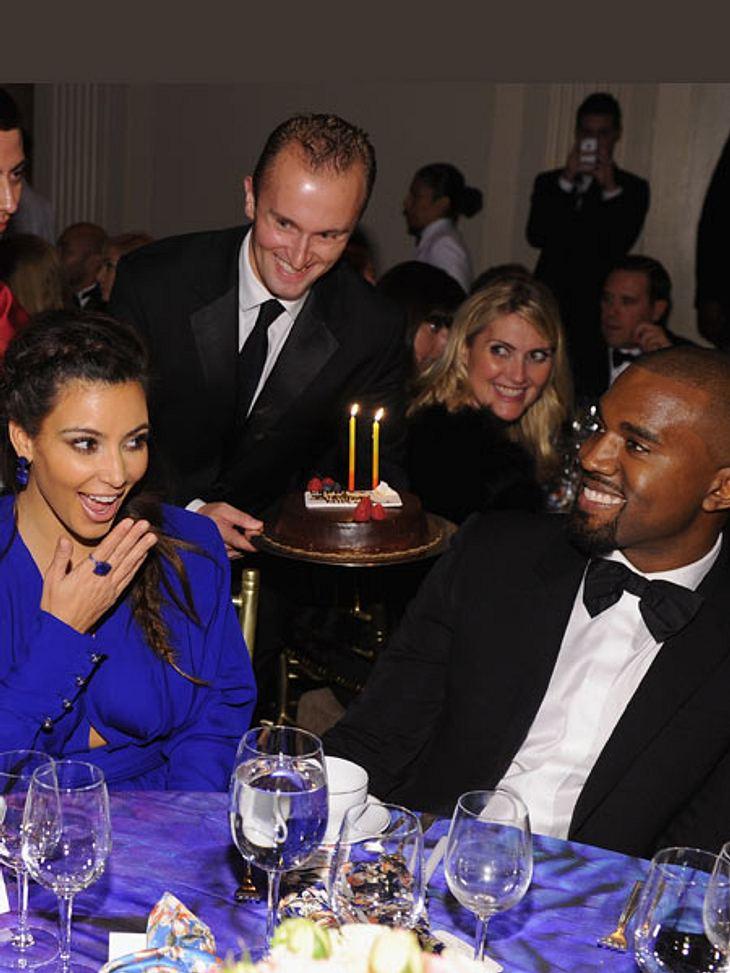 Kim Kardashian hatte sich einen Heiratsantrag zum Geburtstag gewünscht