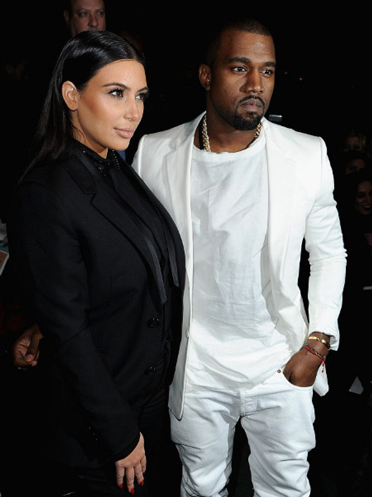Kim Kardashian und Kanye West wollen mit Baby auf Tour gehen!