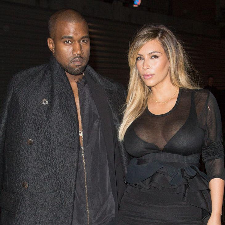 Kim Kardashian und Kanye West sind sauer.